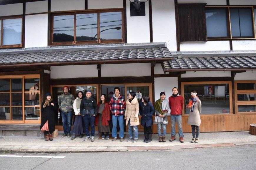 この日はたまたま全国から11人もの方が大祐さんを訪ねて来ていた