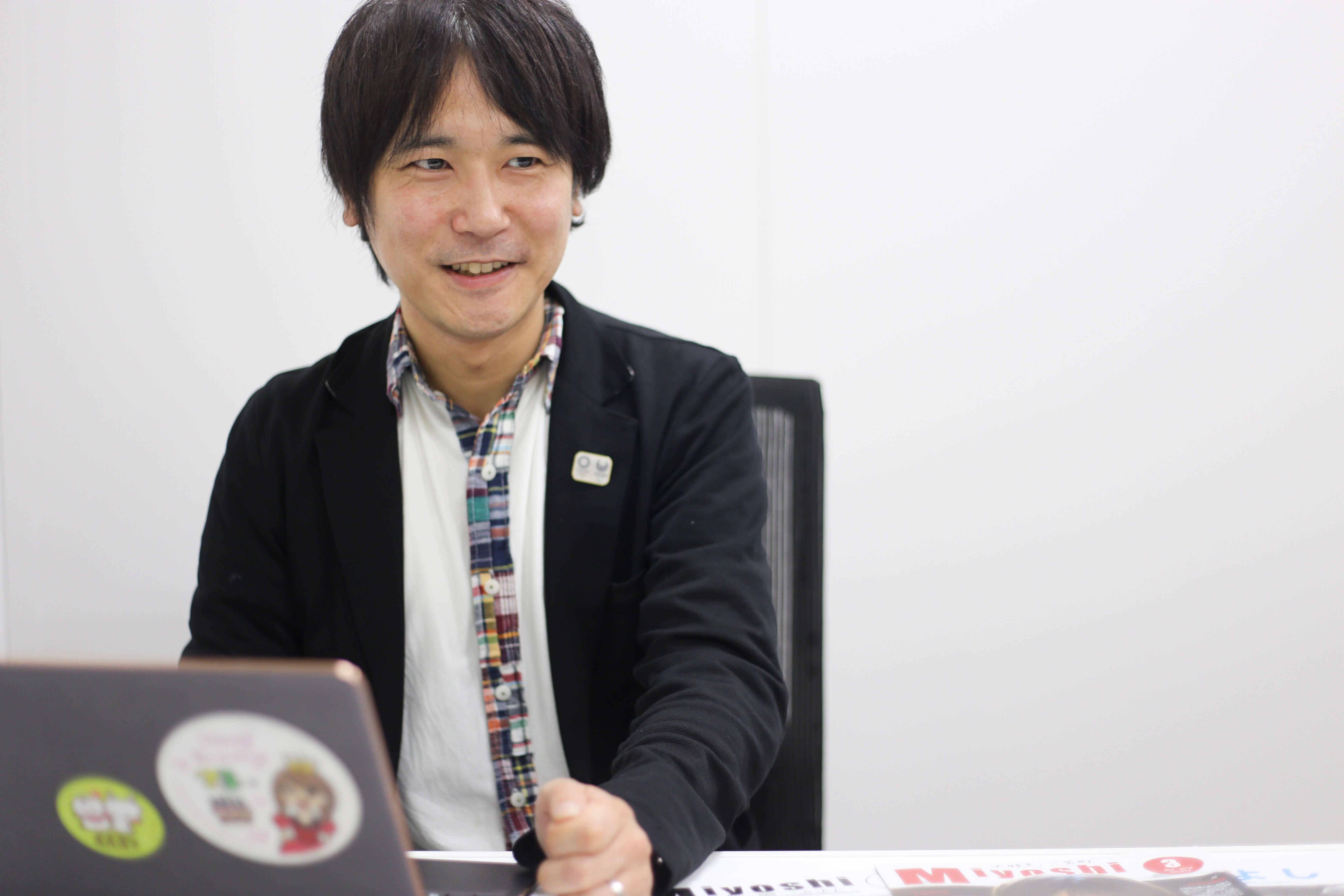 佐久間 智之(Tomoyuki Sakuma)氏