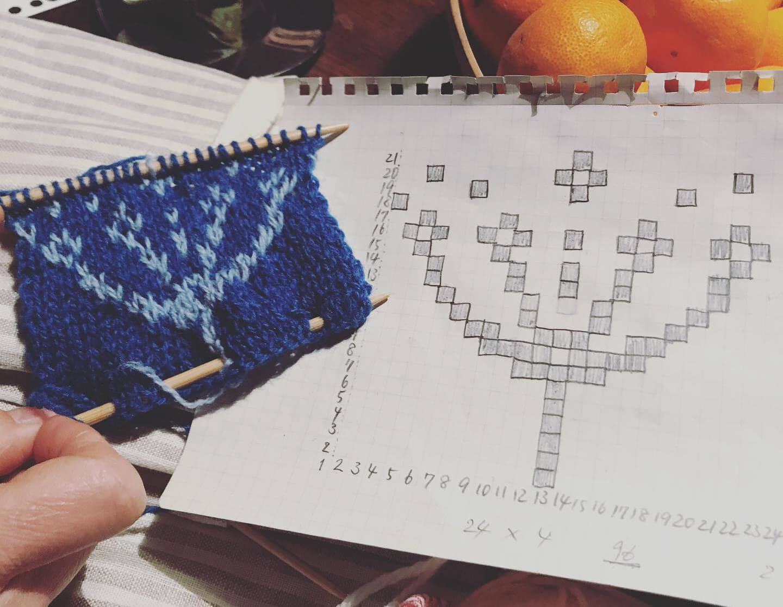 編み物体験