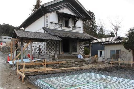 現在整備中の(仮称)富谷宿観光交流ステーションの一部