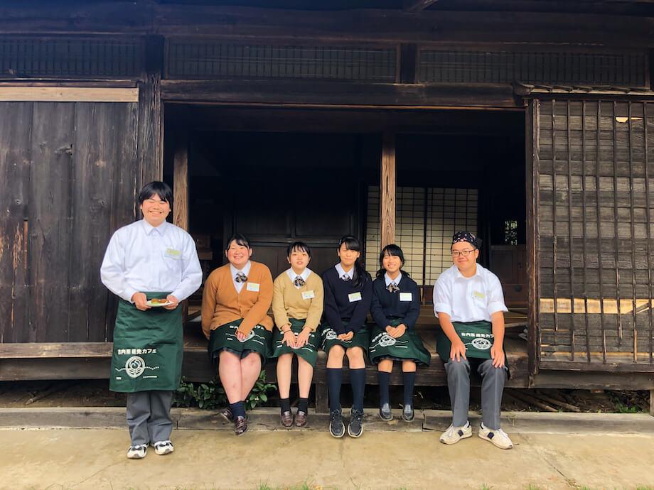 県立水戸桜の牧高常北校のメンバー。茨城県庁の目の前にあるケーキ屋「Patisserie Tomoji」にも監修に入ってもらい、実際に店頭での販売も行なっている。