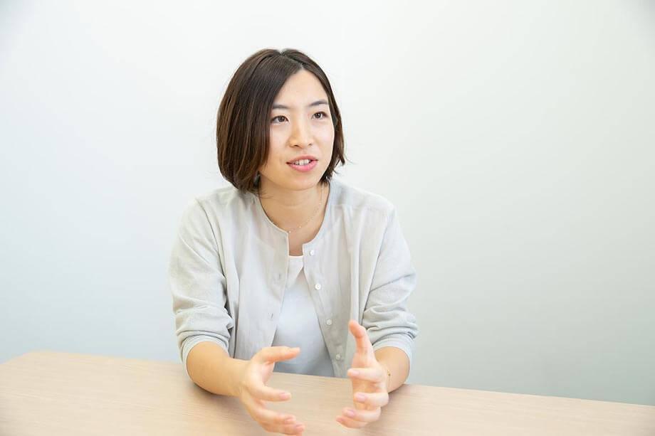 森田 沙耶(Saya Morita)氏 株式会社リヴァ リヴァトレ事業部 / 2014年に新卒で同社へ入社。現在は再就職支援施設「リヴァトレ市ヶ谷」で、プログラム提供やキャリアコンサルティングに携わる。趣味はスカッシュ、フットサル