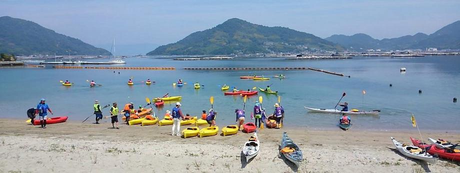 カヌーやSUPなどのマリンスポーツのほか、キャンプやサイクリングなど豊富なアクティビティーがあります。