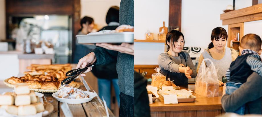 豊富な種類を取り揃える『ムムス』。老若男女問わずファンが多く、特に一番人気は「食パン」はモッチモチフッワフワの食パンを一度口にしてしまったら、病みつきになること間違いなしです。