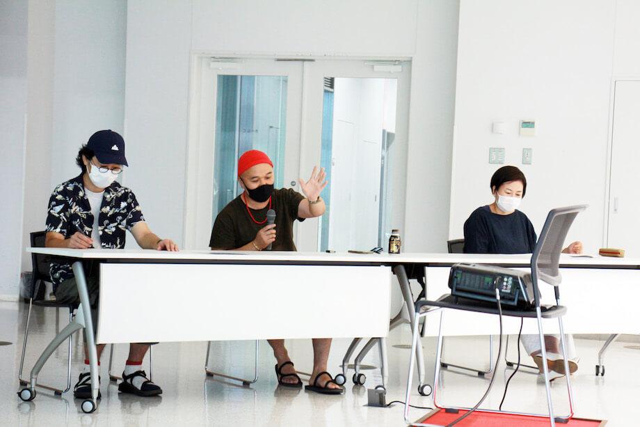 お写真左から)間宮 潤一郎さん、影山 幹さん、井上直美さん