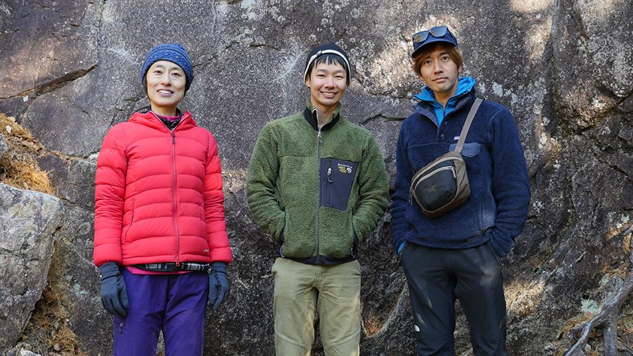 左:参加者,中田さん 中央:ホスト,新宮さん 右:森のオフィス運営代表,津田さん