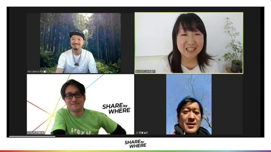 写真左下> 高橋 邦男(Kunio Takahashi)氏 こゆ地域づくり推進機構 執行理事 / 四国・関西の出版社や編集プロダクションを通じて講談社、リクルートなどが発行する情報誌の企画編集に20年携わり、2014年宮崎へUターン。地元行政広報紙の官民連携プロジェクトチーフディレクターを経て2017年4月より(一財)こゆ地域づくり推進機構の設立に参画。事務局長として人材育成事業で多様な起業家を輩出し、2020年4月に執行理事兼最高執行責任者に就任。