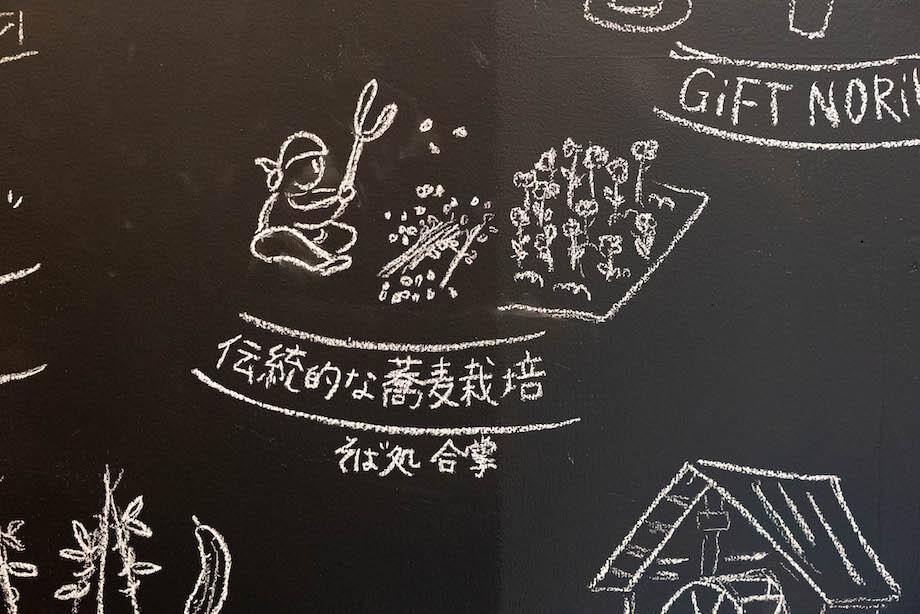 乗鞍高原の在来種番所そばや、奈川在来のお蕎麦をはじめ県内の玄蕎麦を季節ごとに変え、自家製粉している「そば処合掌」。その他、2軒の蕎麦屋が地元の方をはじめ、観光客の胃袋を掴んでいます。