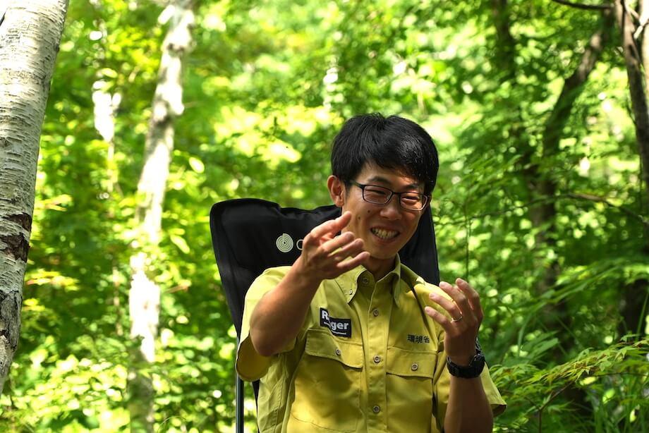 服部 優樹(Yuki Hattori)氏 / 環境省中部山岳国立公園管理事務所国立公園管理官